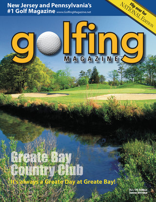 Golfing Magazine New Jersey Late Summer 2015