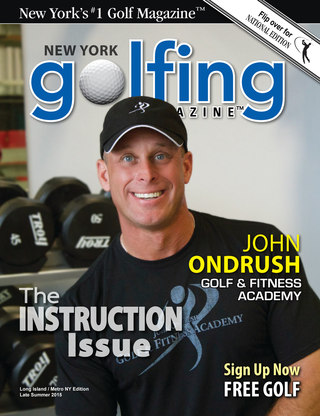 2015 Golfing Magazine Long Island Summer Issue