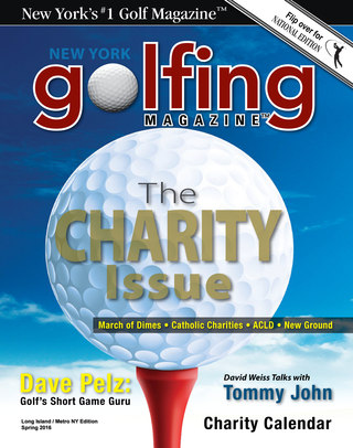 Golfing Magazine Long Island Spring 2016 Issue