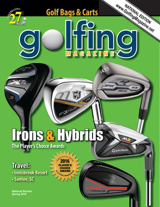 Golfing Magazine National Spring 2016
