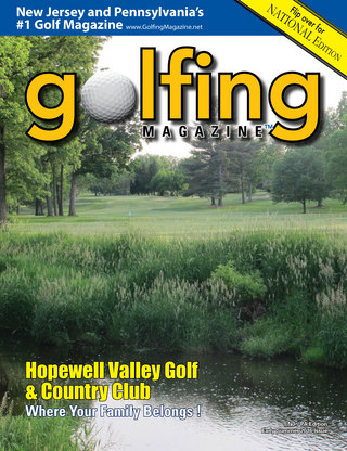 Golfing Magazine New Jersey Early Summer 2016 Issue
