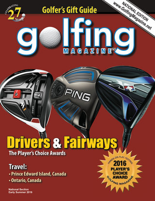 Golfing Magazine National 2016 Early Summer Issue