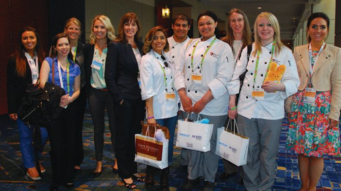 The Confectionery Foundation is again sponsoring culinary students at the Expo, offering tours of the show floor, along with briefings on career opportunities in the candy industry.