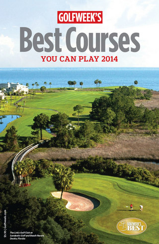 Best Courses You Can Play 2014 HR