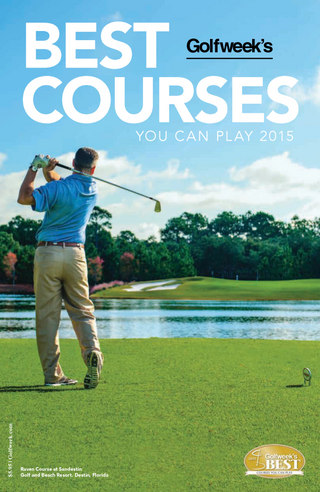Best Courses You Can Play 2015