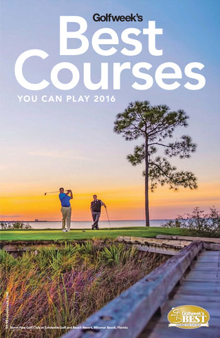 Best Courses You Can Play 2016