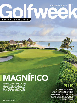 Golfweek digital issue Nov. 14, 2016