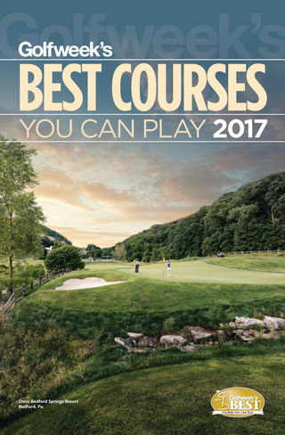 Best Courses You Can Play 2017