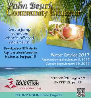 Palm Beach Community Educator Winter 2017