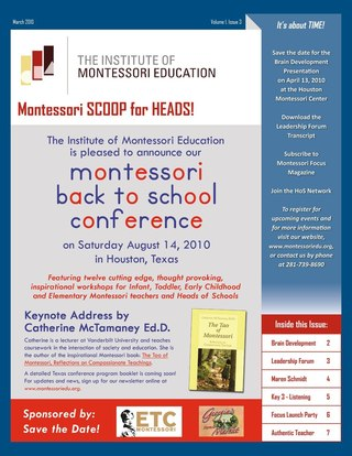 Montessori SCOOP for Heads!