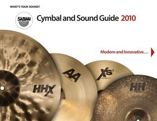 SABIAN Cymbal and Sound Guide 2010