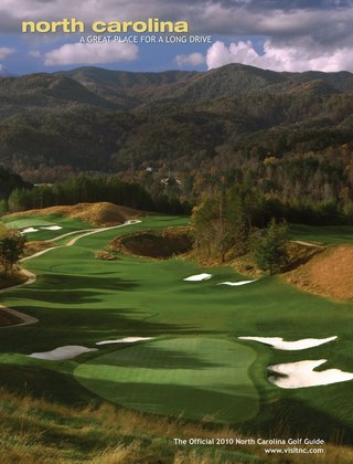 2010 North Carolina Golf Guide