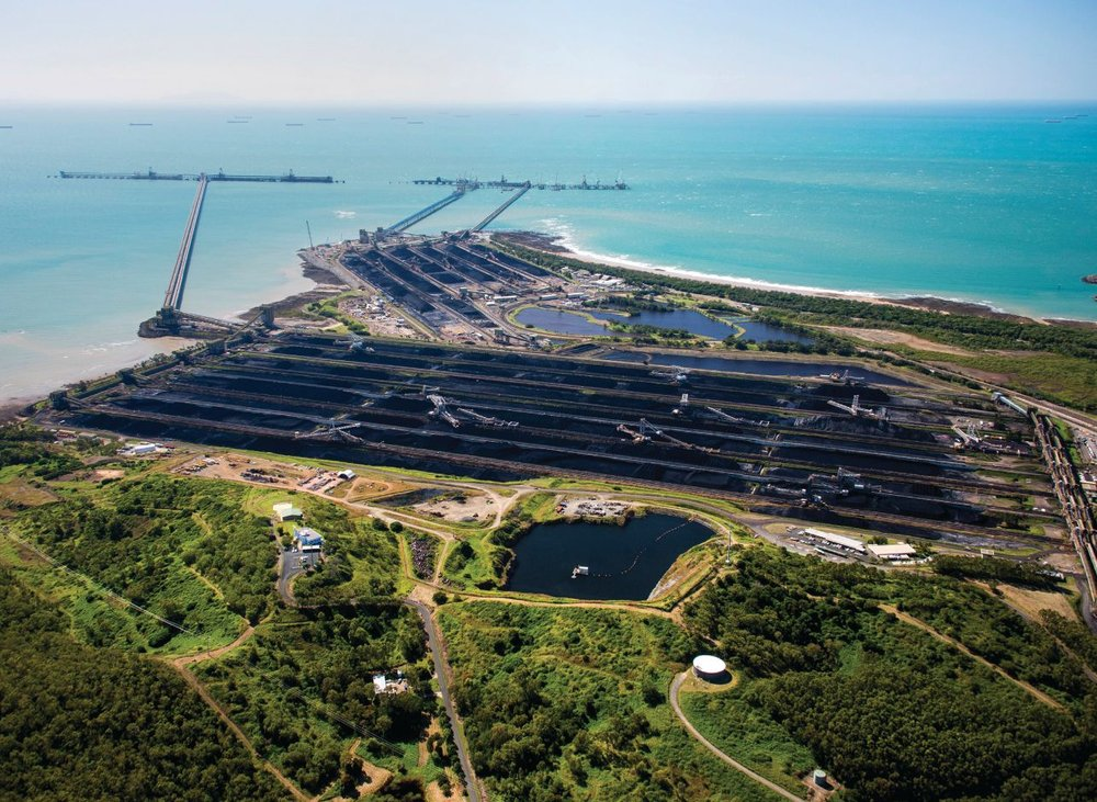 Hay Point Coal facility, Queensland. Photo credit: North Queensland Bulk Ports Corporation.