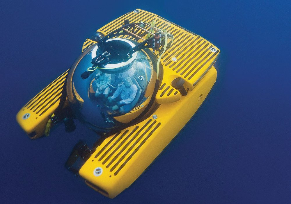 Triton submersibles have been operated from the Mediterranean to the Solomon Islands, from Antarctica to Tahiti.