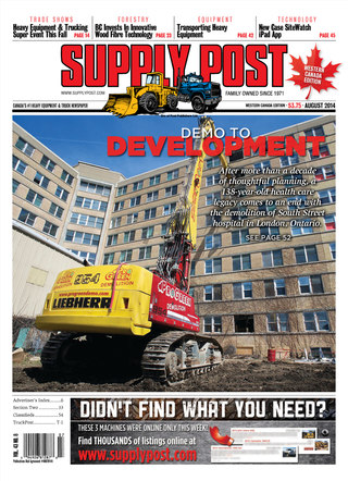 Supply Post Western Cover - August 2014