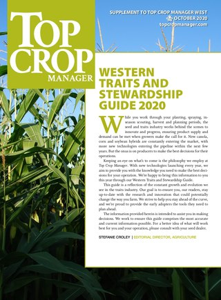Western  Traits and  Stewardship Guide 2020