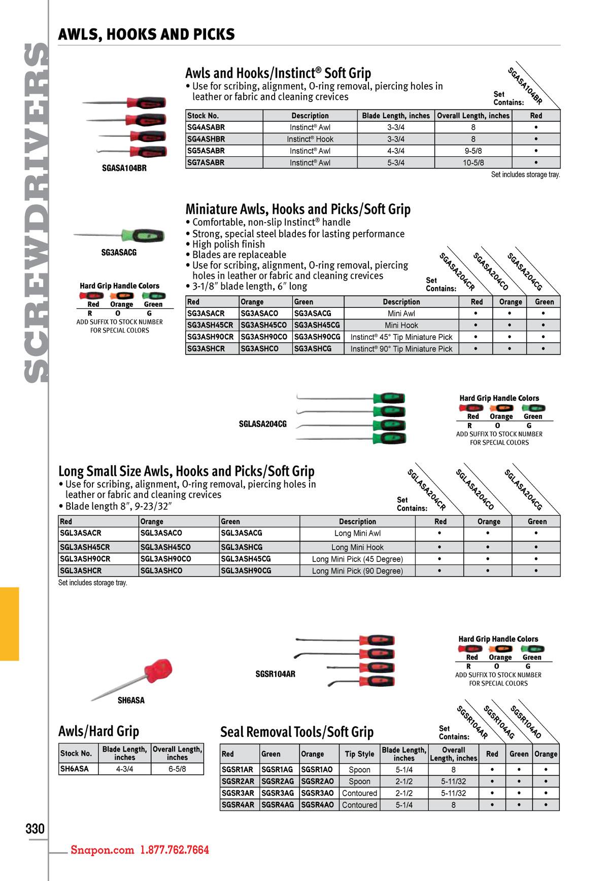 Snap on Tools Catalog English Catalog 1400