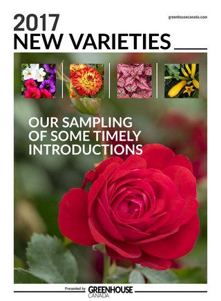 Greenhouse New Varieties August 2017