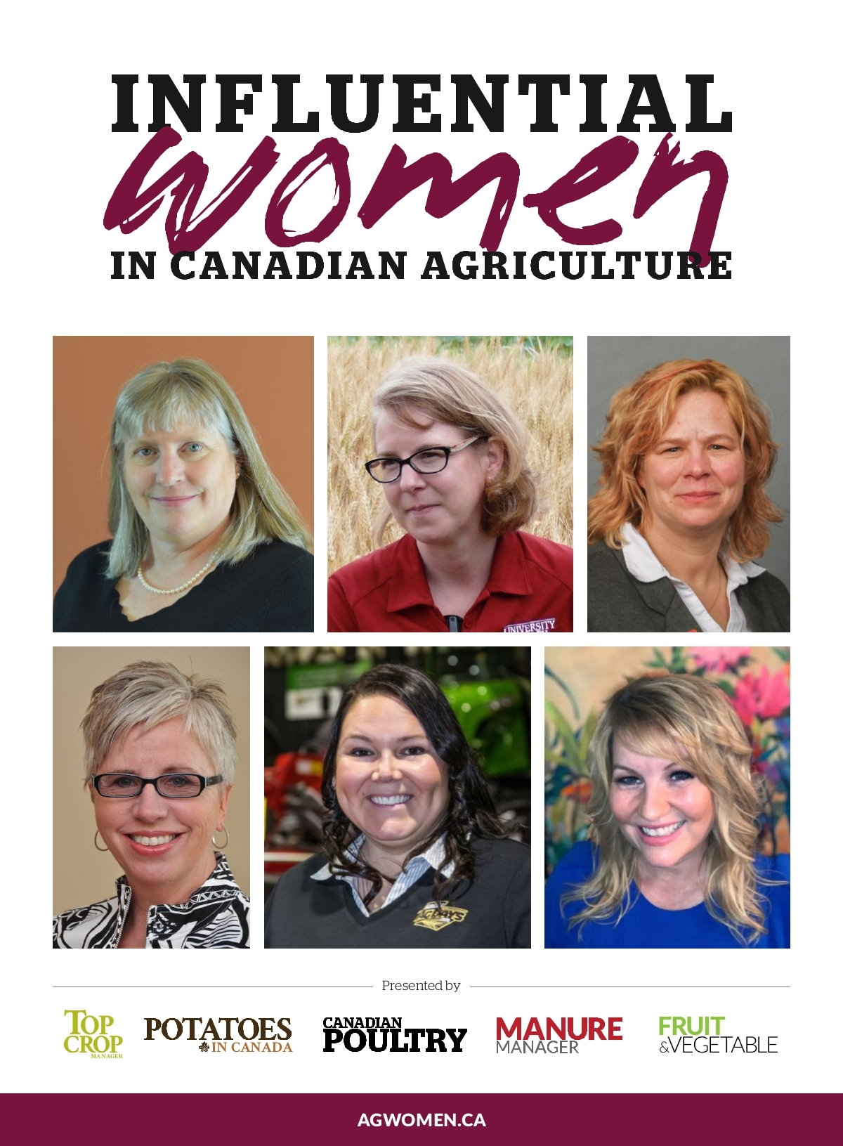 Influential Women In Canadian Agriculture