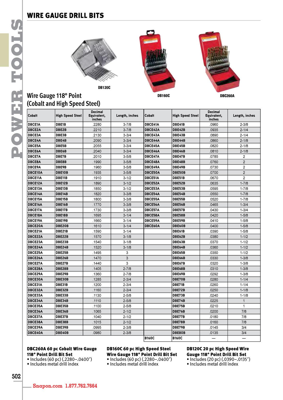 Bohrcraft 41250300600/Boc//41250300600/Cutting Machine Tap Drill Bit DIN 352/HSS E Form B//M 6/Split 1/V Pack of 1