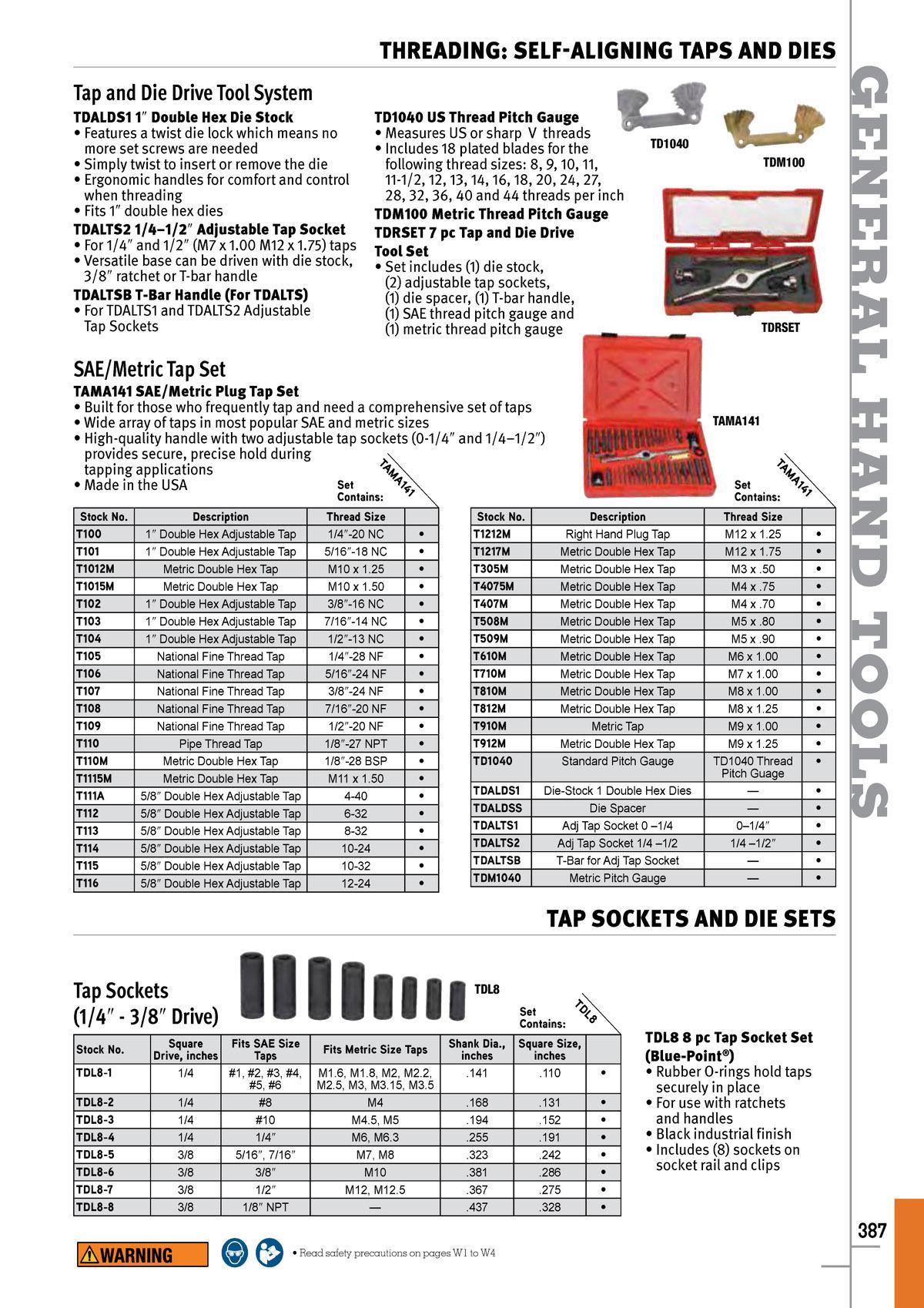 """Snap On DR1615M Adjustable Die 16mm x 1.50 Round 1-1//2/"""" Thread Cutting Equipment"""