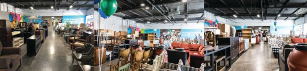 "The ReStore and Goodwill are riding on the ""thrifting"" trend, and growing three times as fast as Lowe's and Home Depot."
