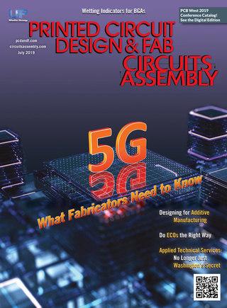 Printed Circuit Design & Fab - July 2019
