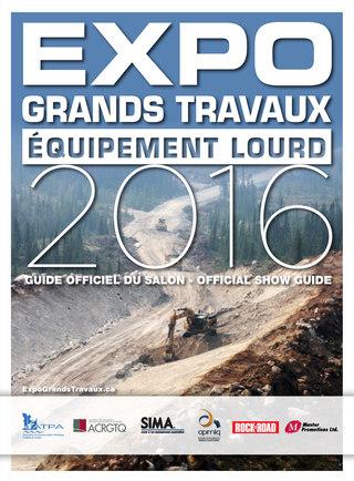 Expo Grands Travaux Equipement Lourd 2016