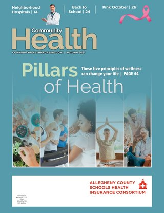Cover of latest Community Health Magazine