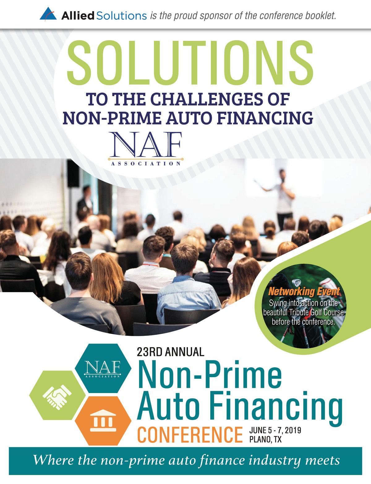 Naf Association Naf Conference Booklet 2019