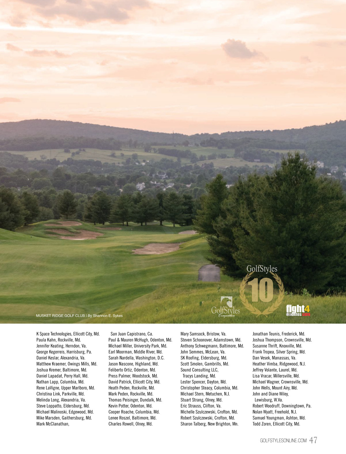 Golfstyles Fall 2018 Issue Opens email form in a window. bluetoad