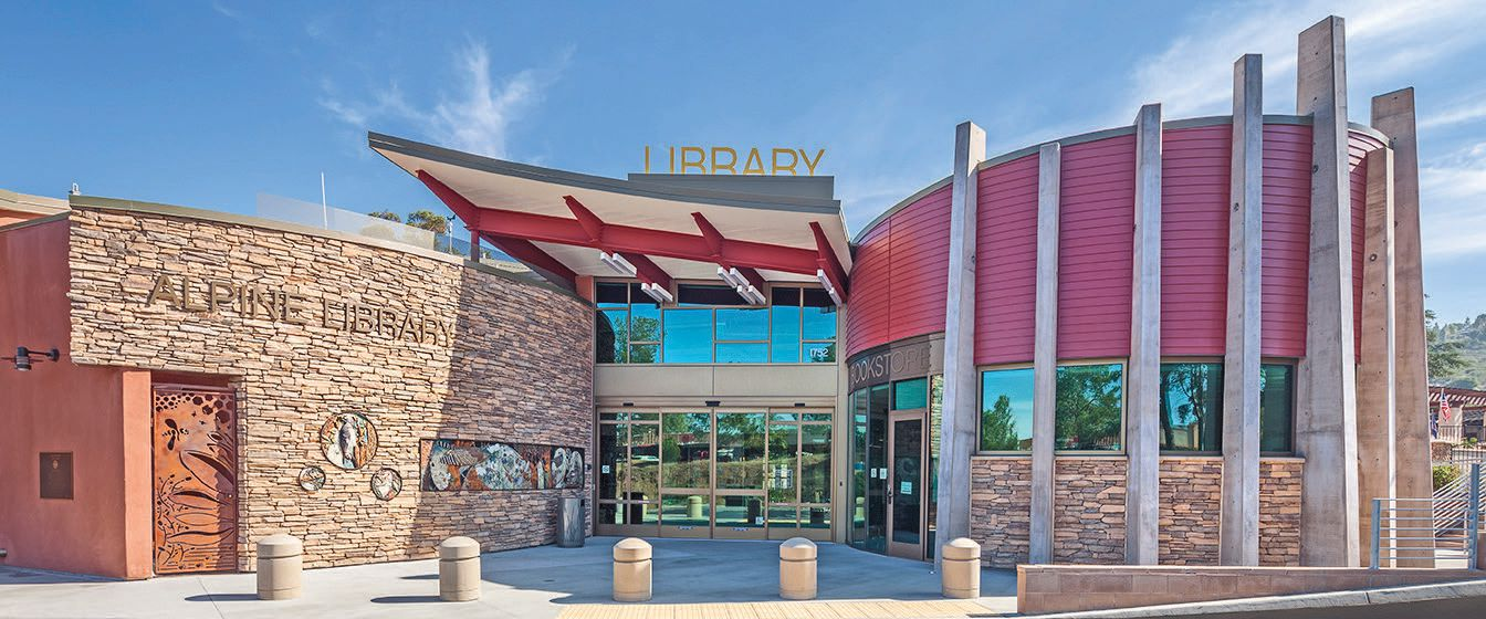 The Alpine Library in San Diego was the first zero net energy building in the county