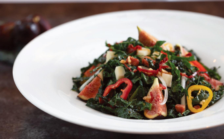 Flagler Steakhouse's kale salad