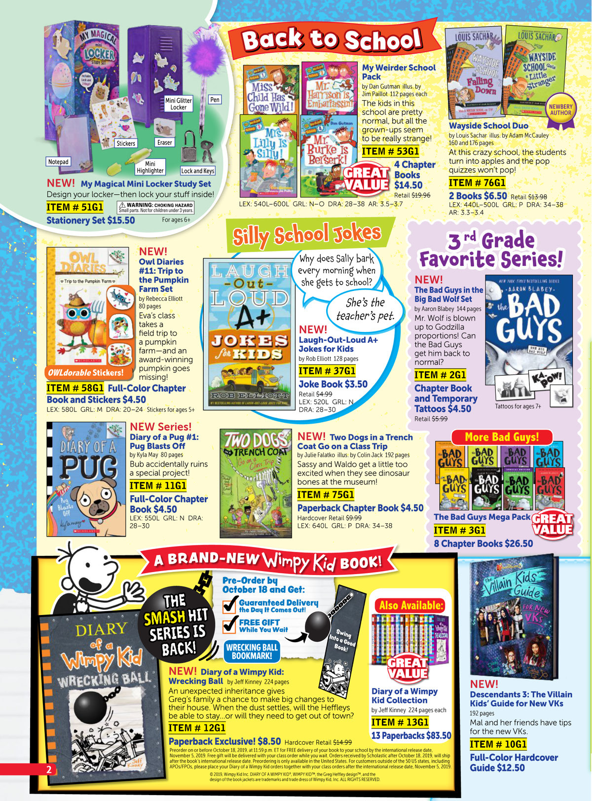 Scholastic Book Clubs All Digital Flyers For 3rd Grade September