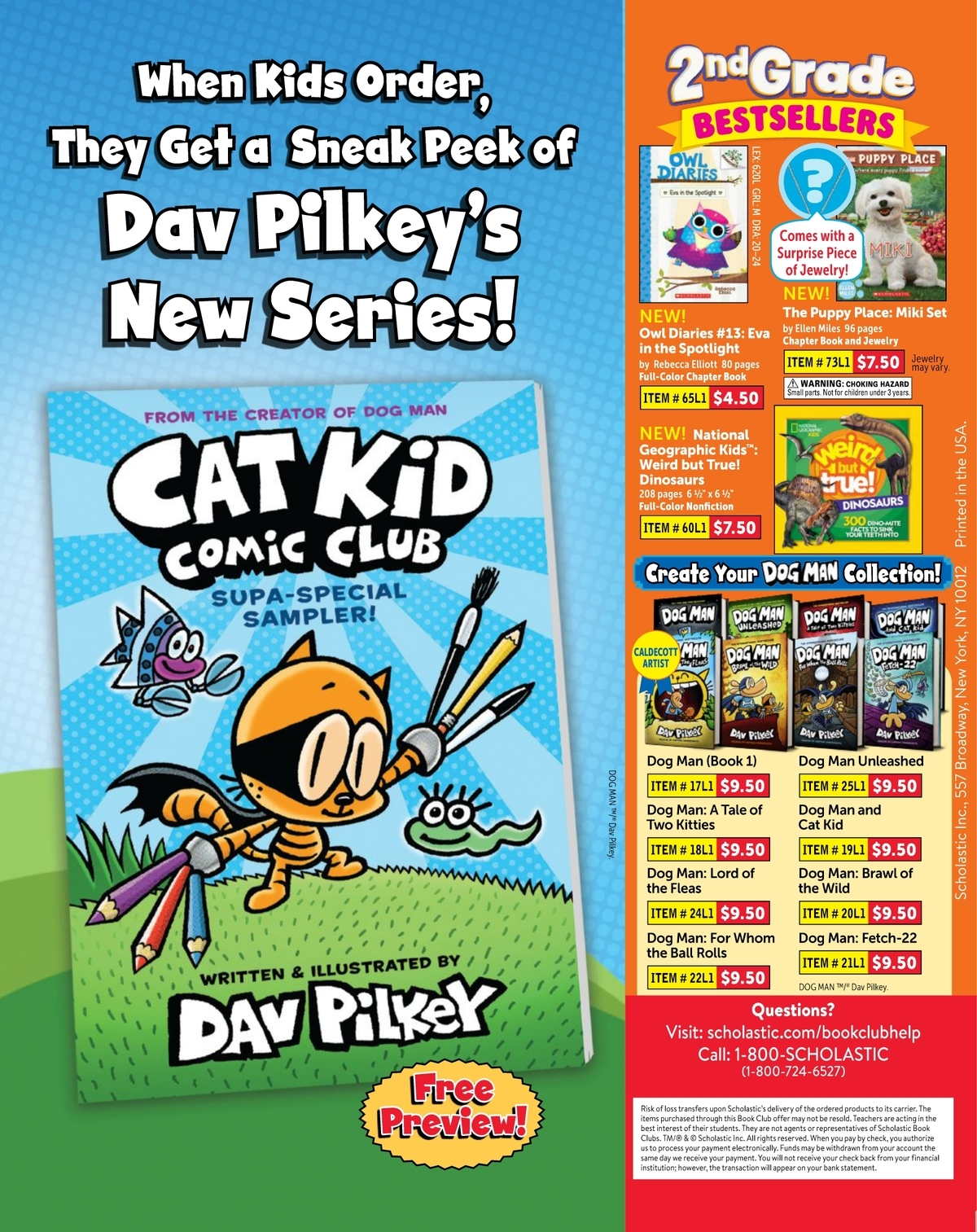 Scholastic Book Clubs All Digital Flyers For 2nd Grade September 2020