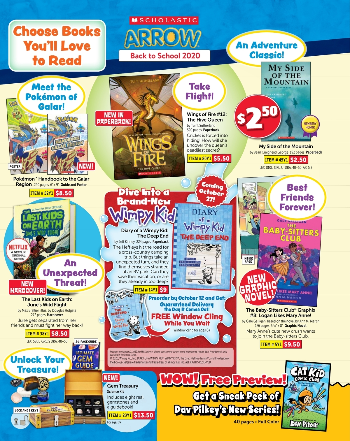 Scholastic Book Clubs All Digital Flyers For 5th Grade September 2020