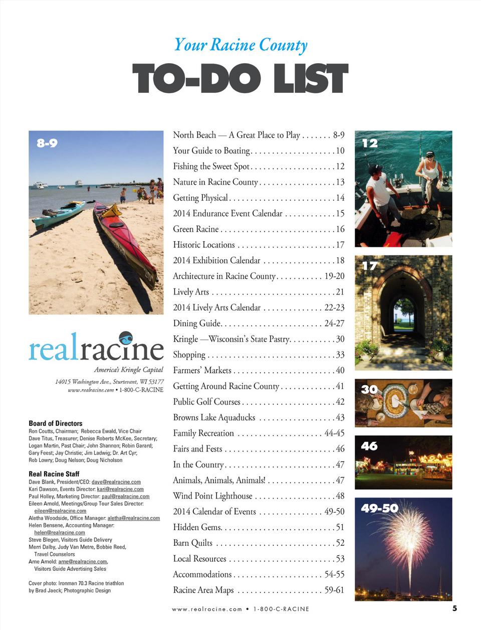 real racine 2014 real racine visitors guide bluetoad