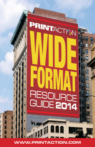Wide Format Resource Guide