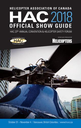 HAC 2018 Showguide