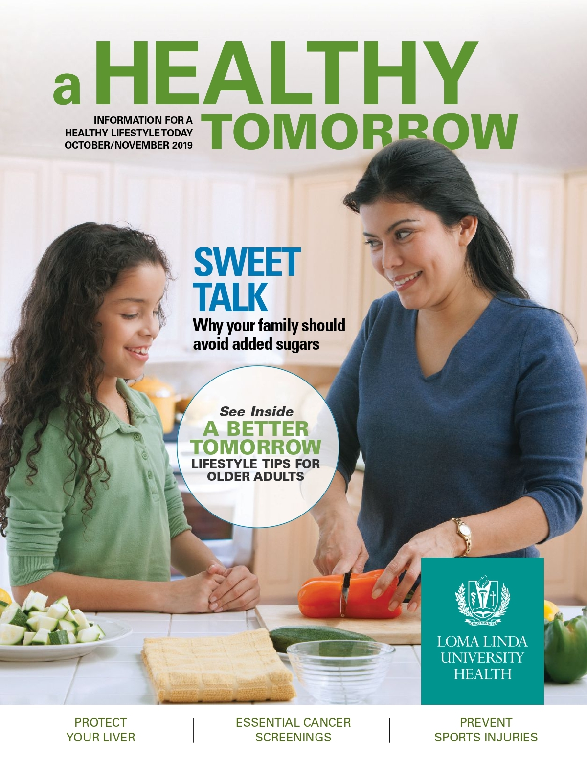 Oct - Nov 2019 A Health Tomorrow Magazine Cover