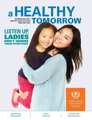Apr - May 2020 A Healthy Tomorrow cover