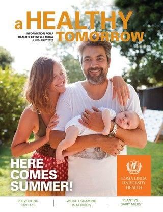 Jun - Jul 2020 A Healthy Tomorrow cover