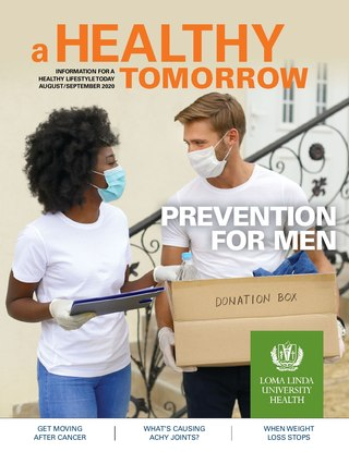 Aug - Spet 2020 A Healthy Tomorrow cover