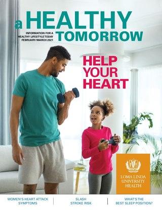 Feb - Mar 2021 A Healthy Tomorrow cover
