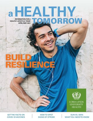 Apr - May 2021 A Healthy Tomorrow cover