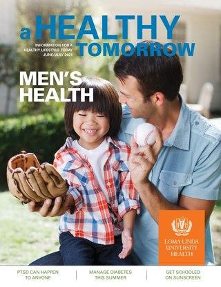 Jun - Jul 2021 A Healthy Tomorrow cover