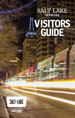 Salt Lake Visitors Guide Cover