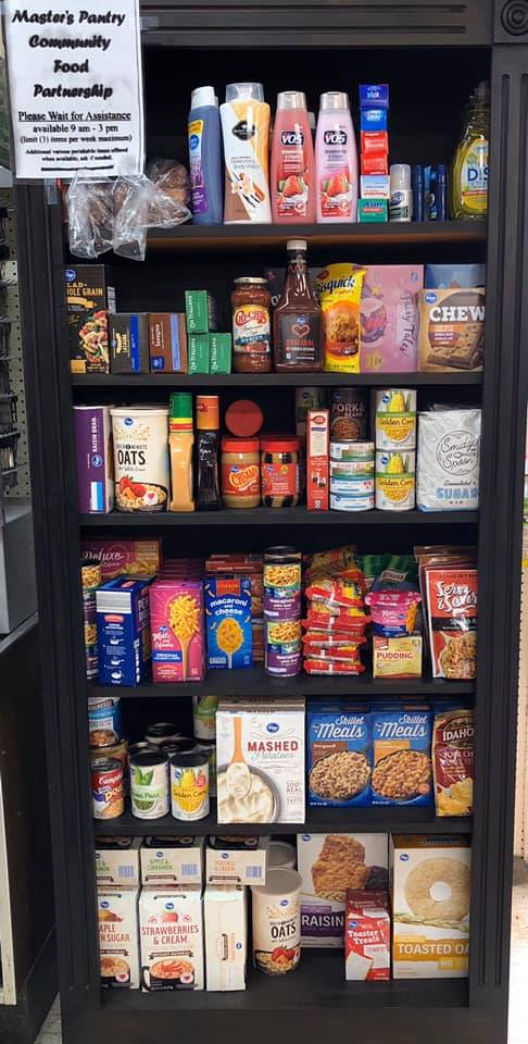Markle Do it Best Hardware in Markle, Ind., has opened a community food pantry.