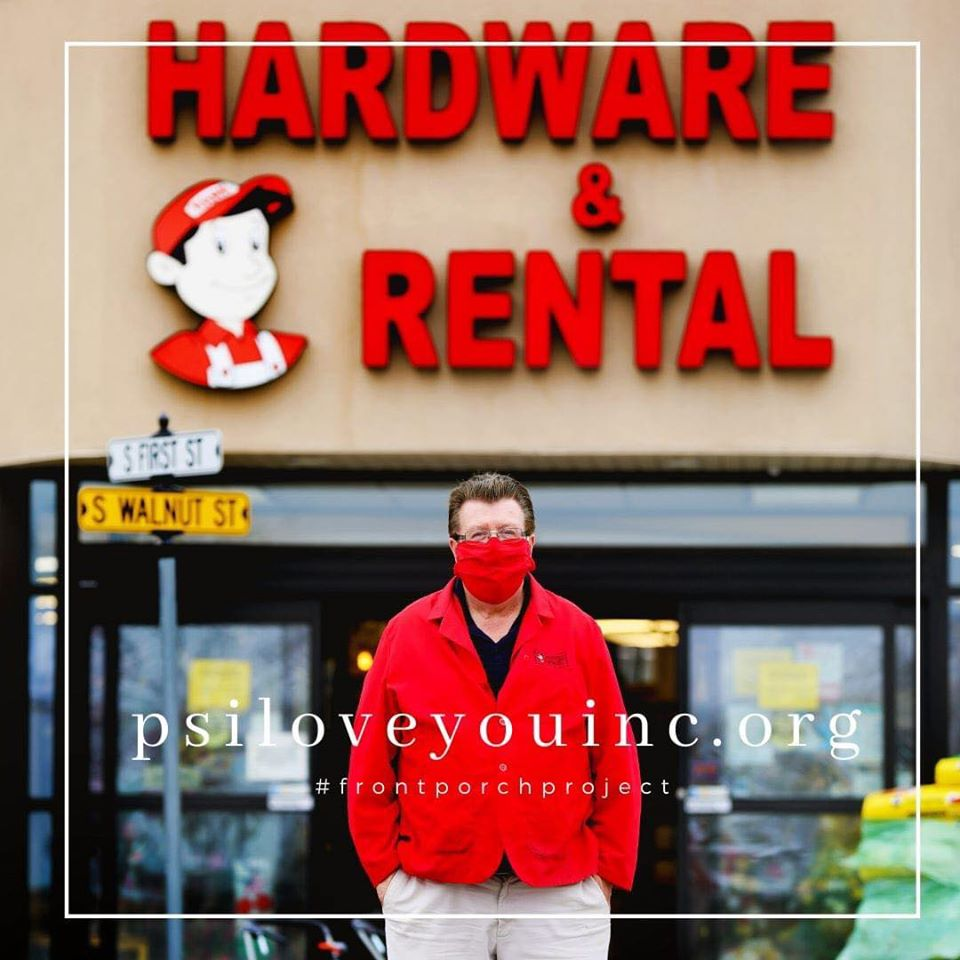 Bob Heth operates Heth's Hardware Hank & Rental, which is marking its 60th anniversary this year.