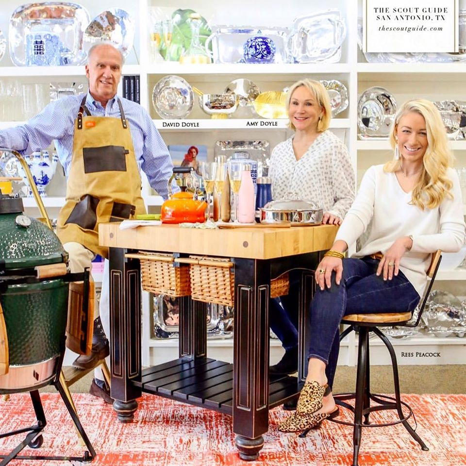 David and Amy Doyle and their daughter, Rees Doyle Peacock, are expanding Sunset Ridge Home & Hardware in San Antonio to bring hardware, home and high-end gift products under one roof.